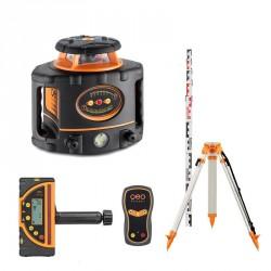Pack laser rotatif à pente FL 300 HV-G Geofennel avec FR77 + Trépied et mire