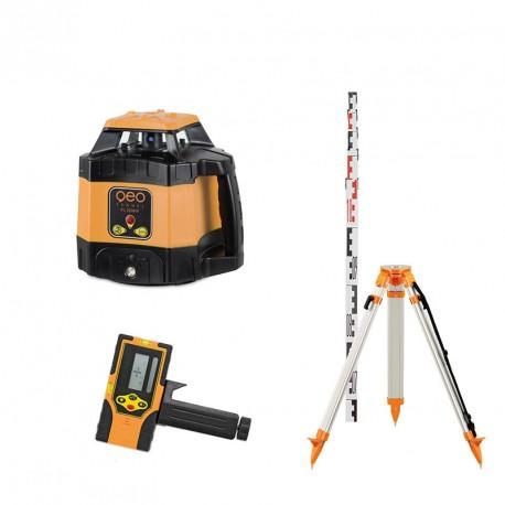 Laser rotatif automatique FL 220 HV Geofennel avec trépied et mire