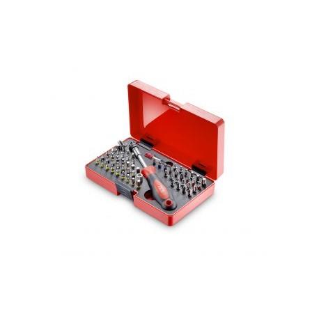 Coffret d'embouts spéciaux de sécurité 60 pieces Z-760B JET Promac