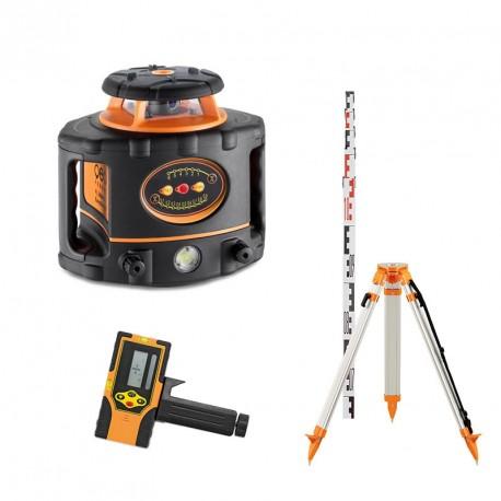 Pack laser rotatif à pente FL 300 HV-G Geofennel avec FR45 + Trépied et mire