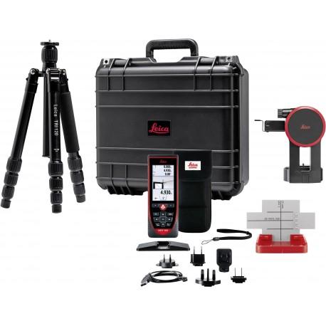 Pack Télémètre laser LEICA DISTO S910 avec trépied et adaptateur