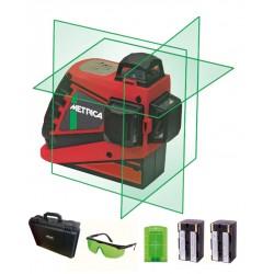 Niveau laser 3 lignes vert 360° METRICA 3D-G - Nouvelle génération
