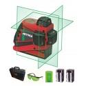 Laser 3 lignes 360° METRICA 3D-G Vert