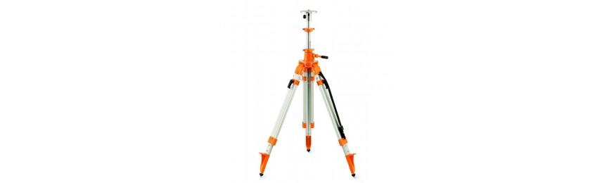 Trépieds pour laser de chantier