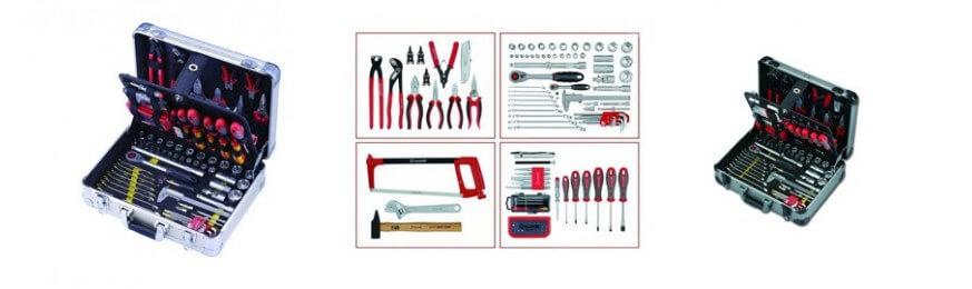 Valise complète d'outils