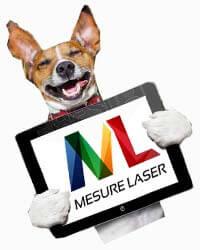Mesure Laser est compatible tablette et mobile!